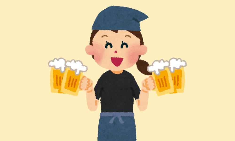 居酒屋のオープンスタッフアルバイト評判口コミ体験談
